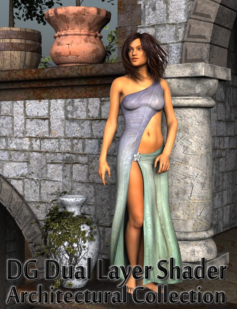 DG Dual Layer Shader - Architectural by: IDG DesignsDestinysGarden, 3D Models by Daz 3D