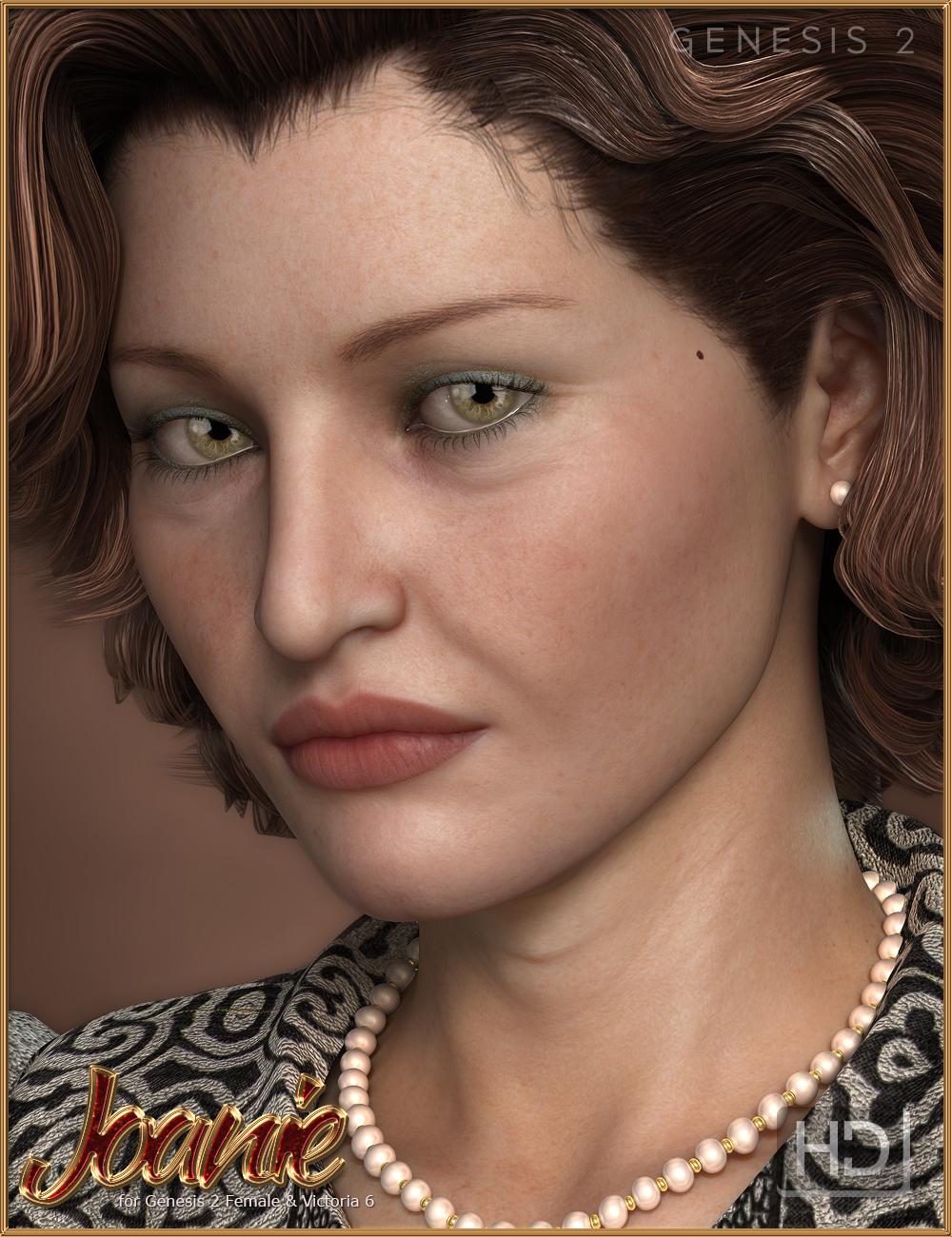 FW Joanie HD by: Fred Winkler ArtFisty & Darc, 3D Models by Daz 3D