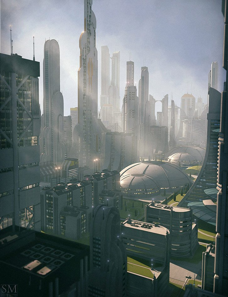Utopia Cityscape Blocks by: Stonemason, 3D Models by Daz 3D