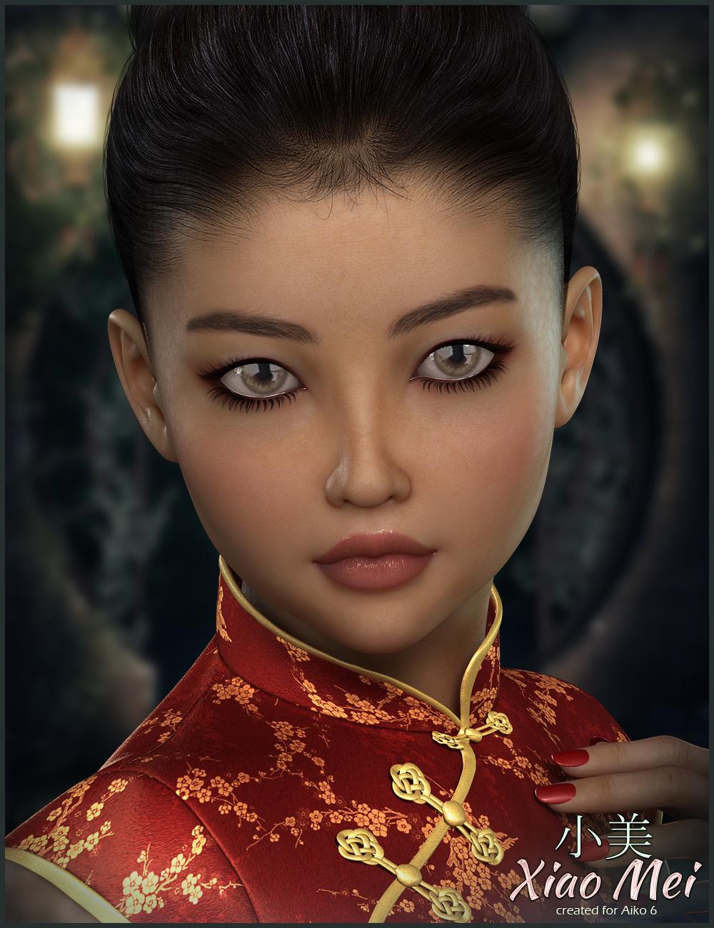 FWSA Xiao Mei by: Fred Winkler ArtSabby, 3D Models by Daz 3D
