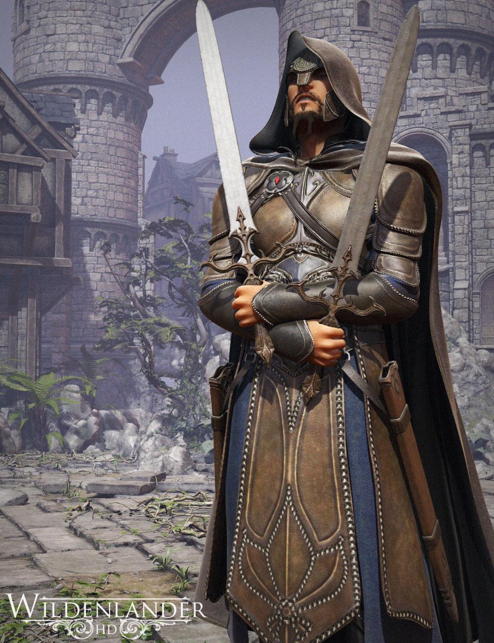 Wildenlander HD for Genesis 2 Male(s) by: Luthbel, 3D Models by Daz 3D