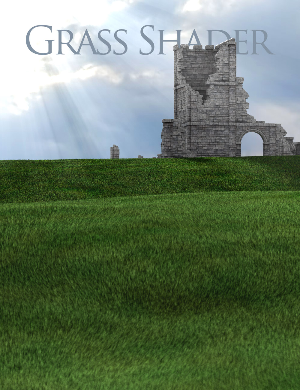 Grass Shader for DAZ Studio by: DimensionTheory, 3D Models by Daz 3D