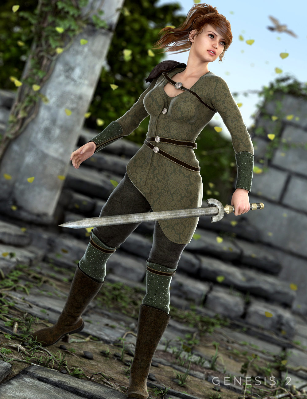 Mythbell for Genesis 2 Female(s) by: SarsaVal3dart, 3D Models by Daz 3D