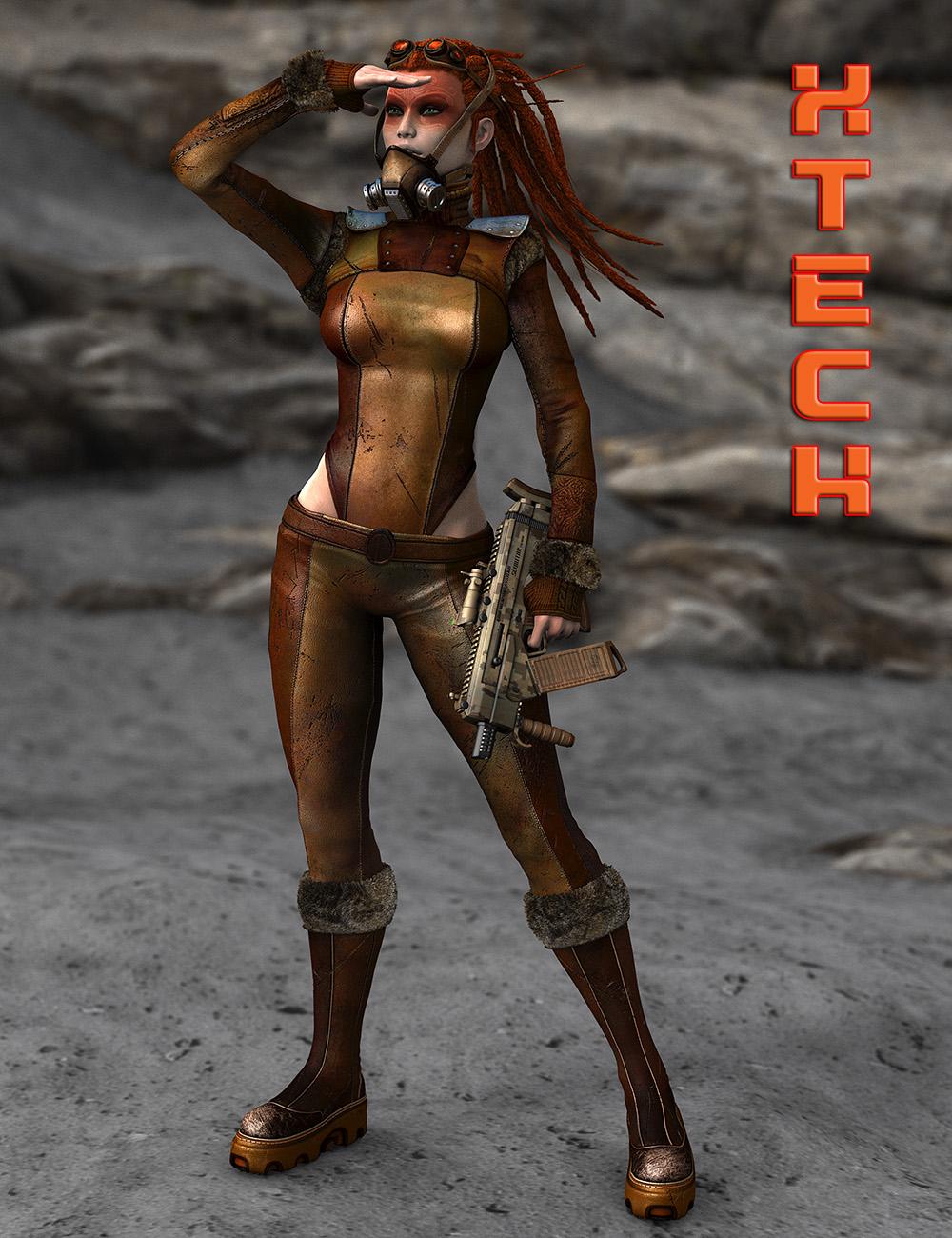 XTech Bundle for Genesis 2 Female(s) by: ElorOnceDark, 3D Models by Daz 3D
