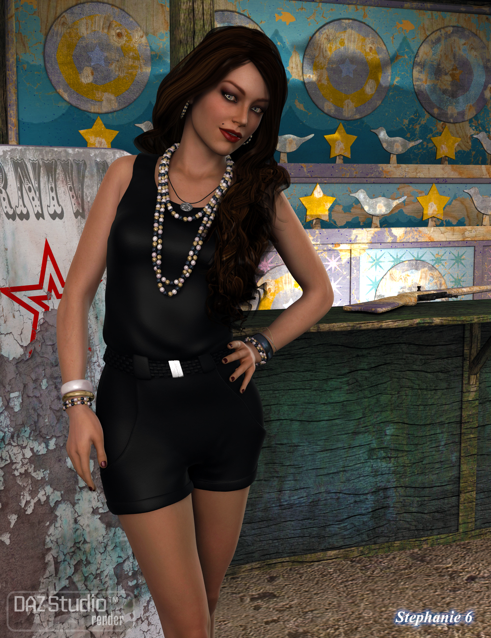Casual Romper for Genesis 2 Female(s) | Eveyday Clothing