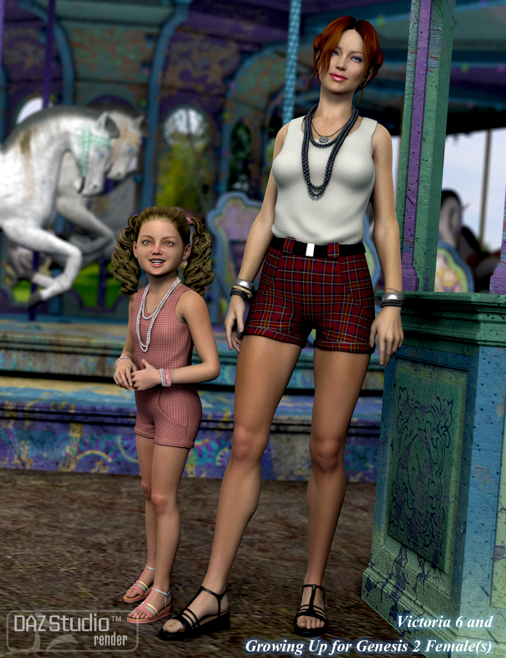 Casual Romper for Genesis 2 Female(s) | Casual rompers