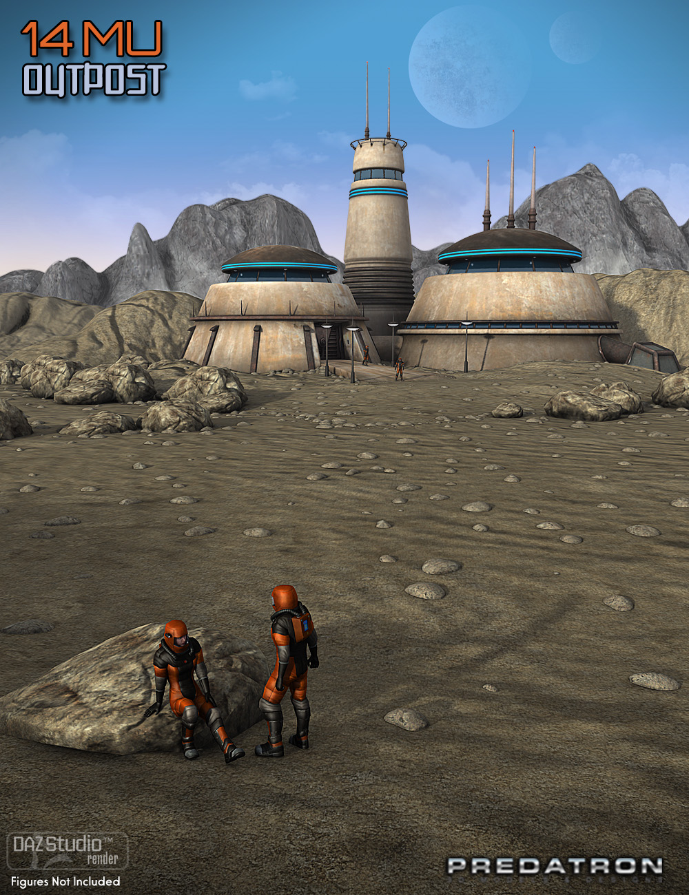 14MU Outpost by: Predatron, 3D Models by Daz 3D