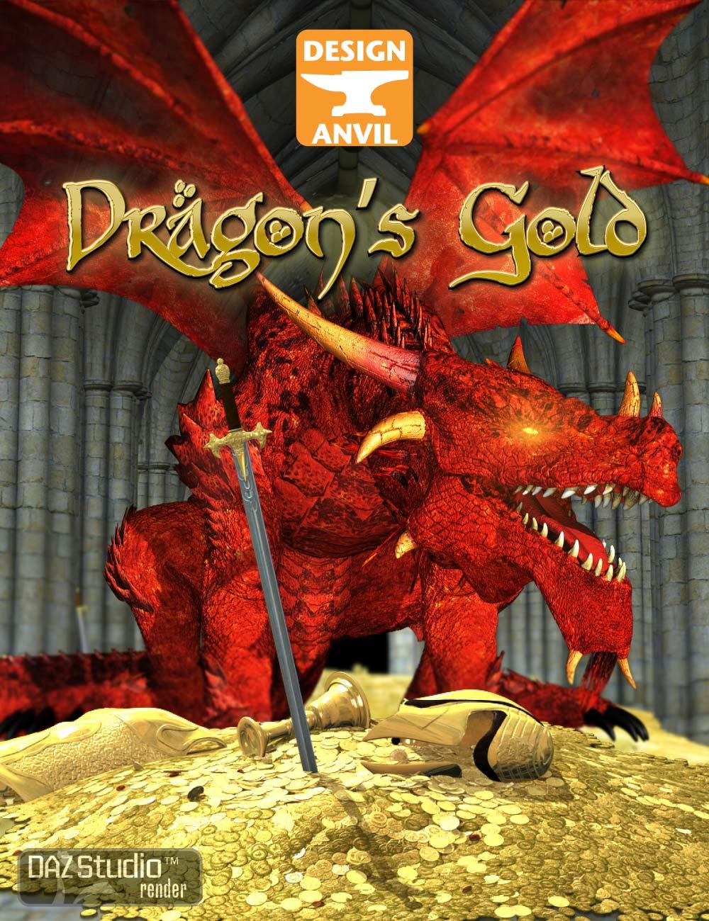 DA Dragon's Gold by: Design Anvil, 3D Models by Daz 3D
