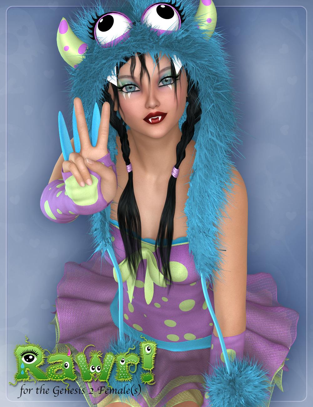 Rawr! Outfit by: JessaiiDemonicaEvilius, 3D Models by Daz 3D