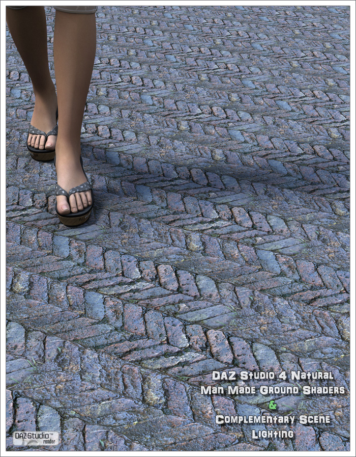DAZ Studio 4 Historical Flooring Shaders by: David BrinnenForbiddenWhispers, 3D Models by Daz 3D
