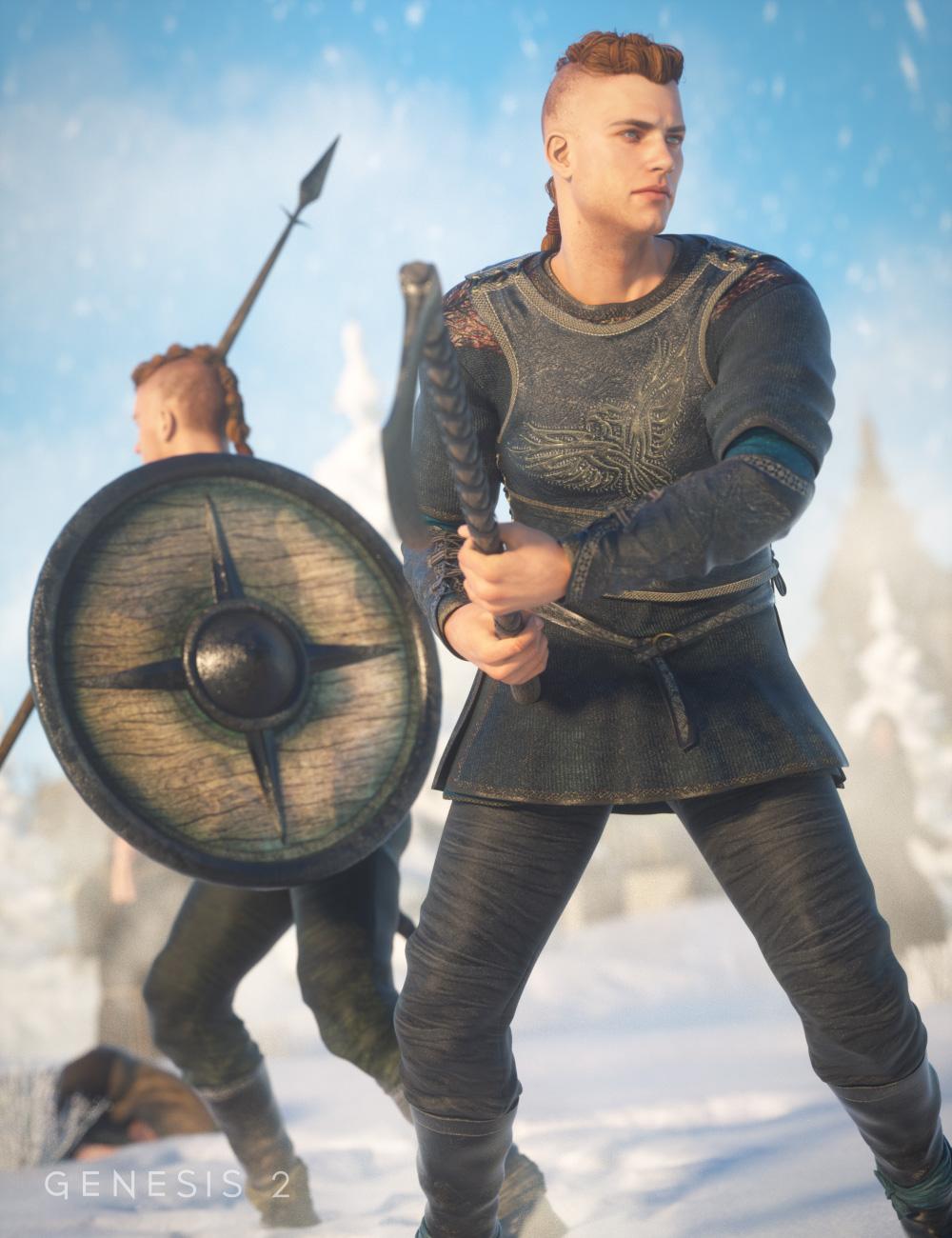 Norsemen II for Viking for Genesis 2 Male(s) by: Sarsa, 3D Models by Daz 3D