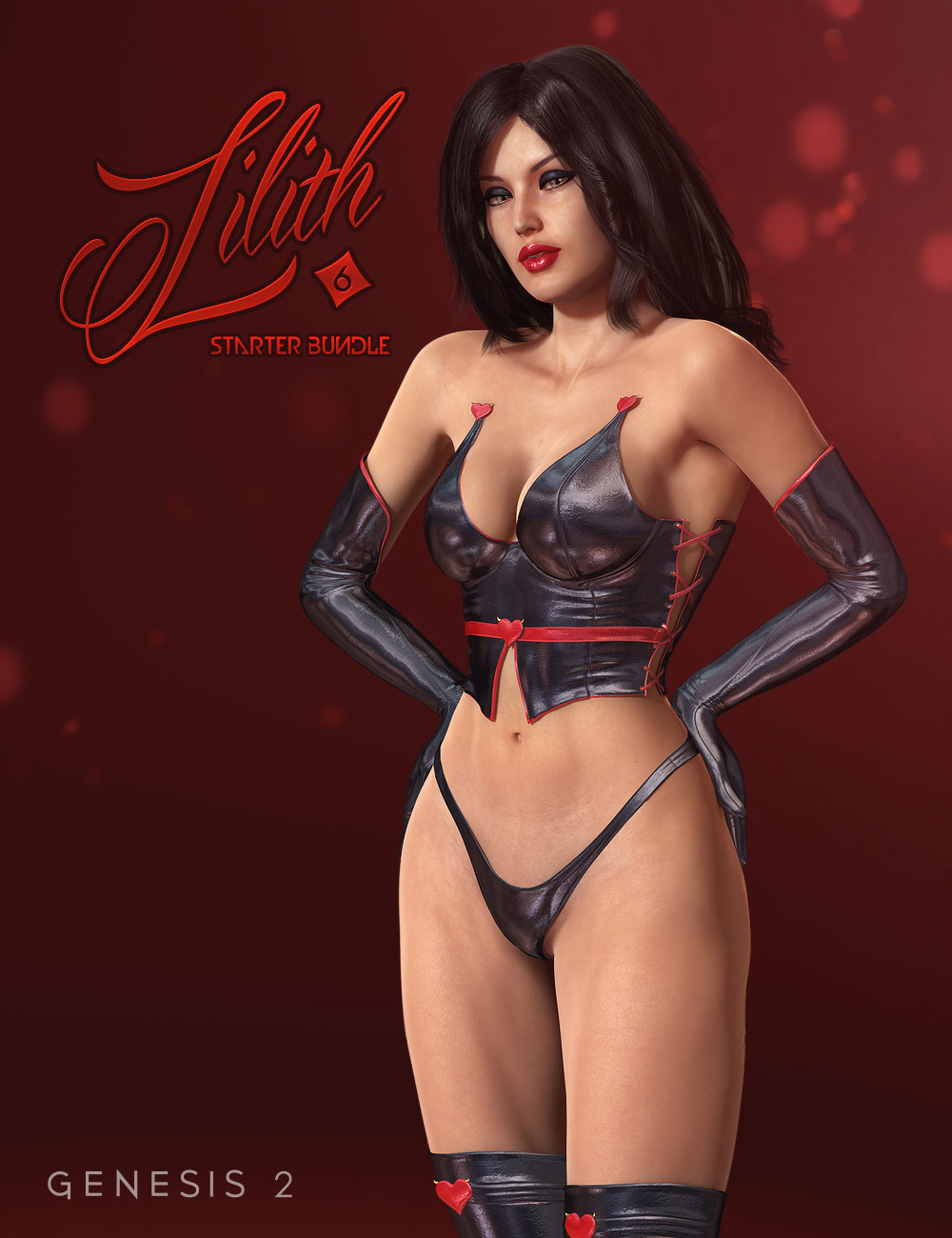 Lilith 6 Starter Bundle by: , 3D Models by Daz 3D