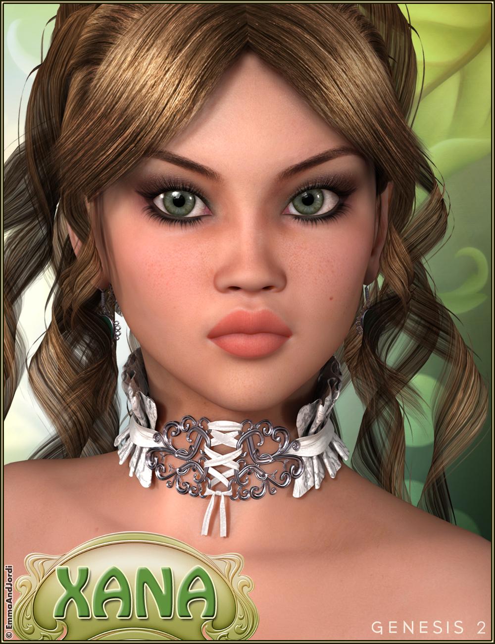 EJ Xana by: EmmaAndJordi, 3D Models by Daz 3D