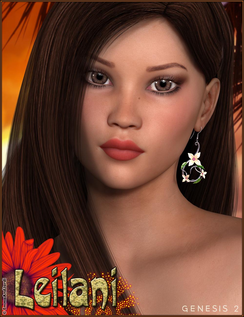 EJ Leilani by: EmmaAndJordi, 3D Models by Daz 3D