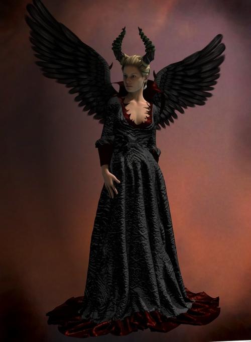 Evil Queen Set for Genesis 2 Female(s) by: Neftis3D, 3D Models by Daz 3D