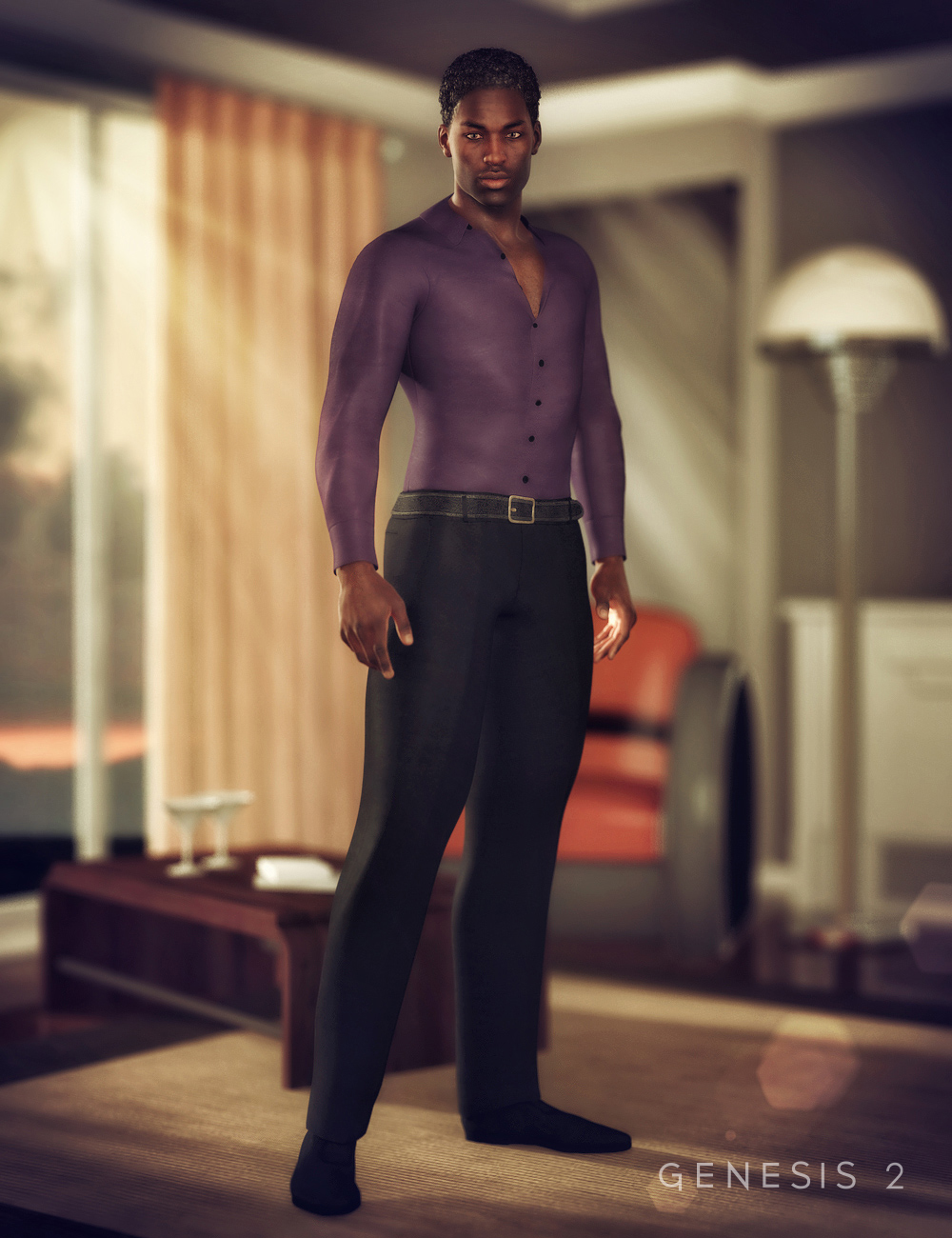 Minato Outfit for Genesis 2 Male(s) by: NikisatezSarsa, 3D Models by Daz 3D