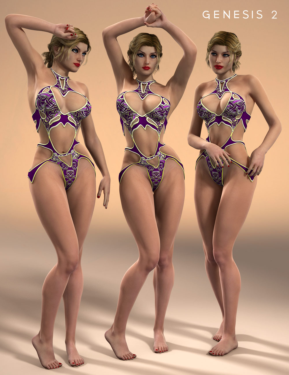 Seductress Poses for Lilith 6 by: Design Anvil, 3D Models by Daz 3D