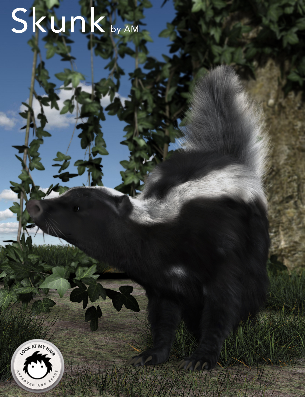 Skunk by AM by: Alessandro_AM, 3D Models by Daz 3D