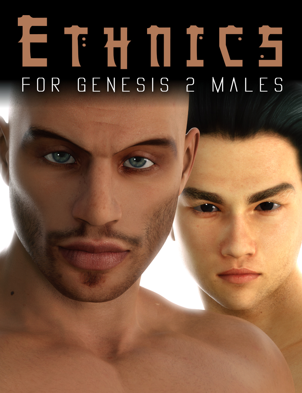 Ethnics for Genesis 2 Male(s) by: Cake One, 3D Models by Daz 3D