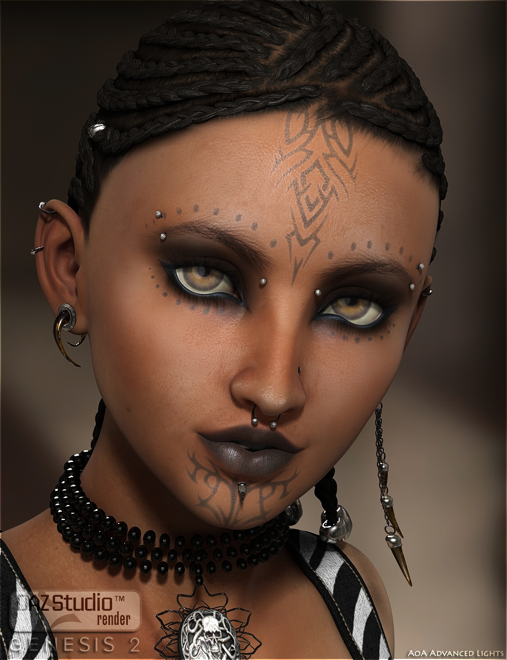 Ziva for Aiko 6 by: Saiyaness, 3D Models by Daz 3D