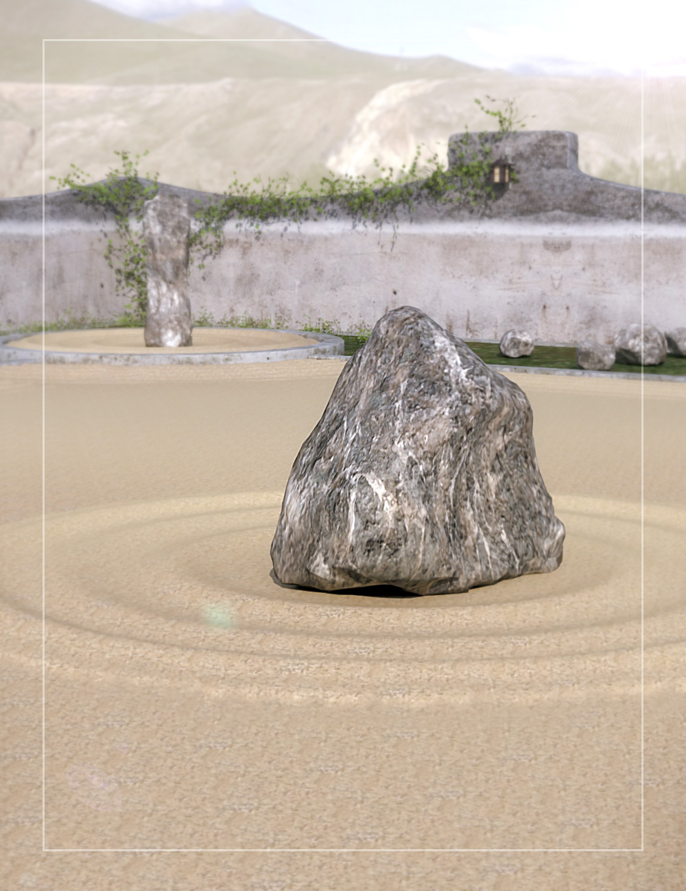 Zen Garden by: , 3D Models by Daz 3D