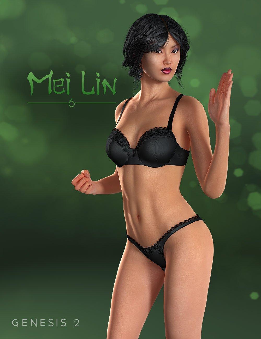 Mei Lin 6 by: , 3D Models by Daz 3D
