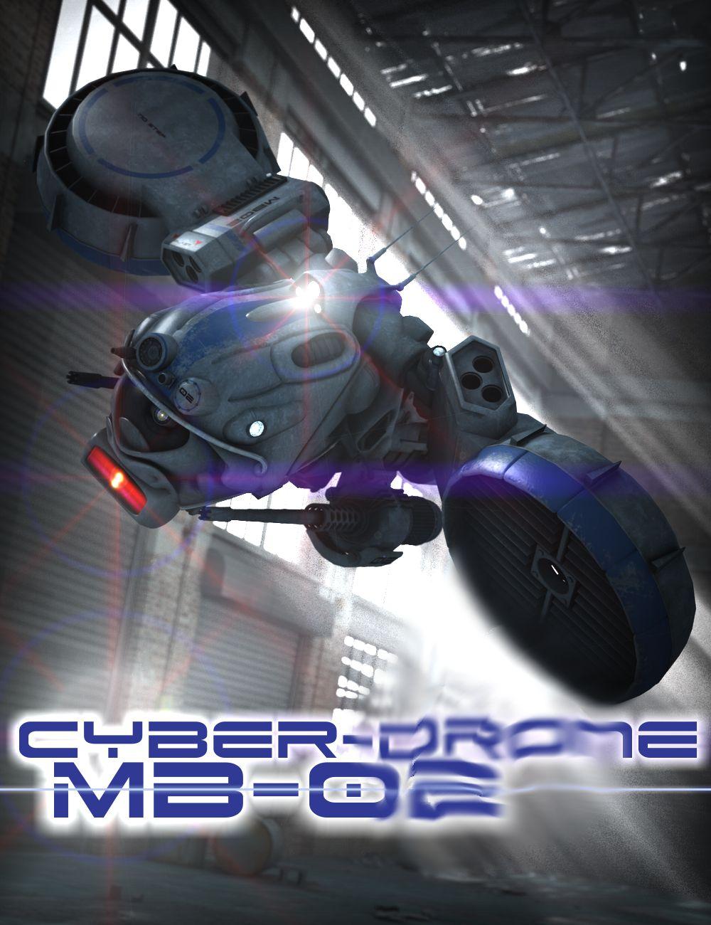 Cyber Drone by: DzFire, 3D Models by Daz 3D