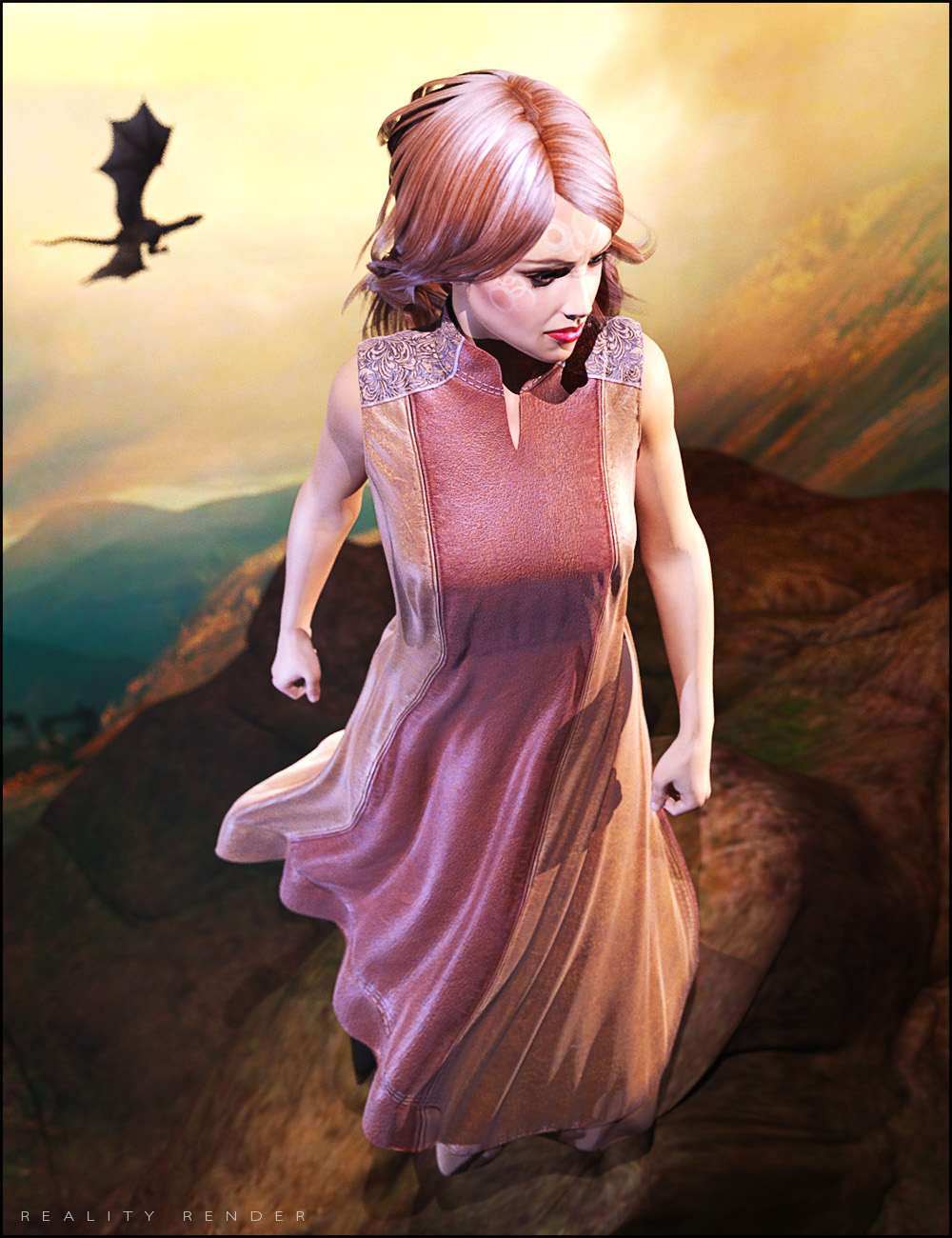 High Garden Outfit Textures by: SHIFTING IMAGES, 3D Models by Daz 3D