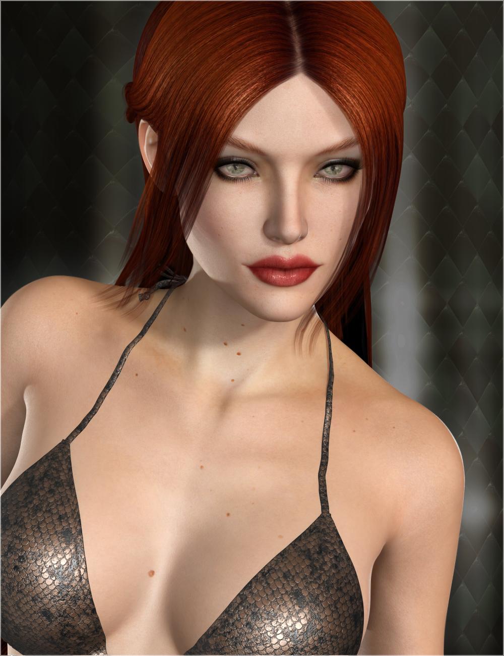 Ava HD for Lilith 6 by: Raiya, 3D Models by Daz 3D