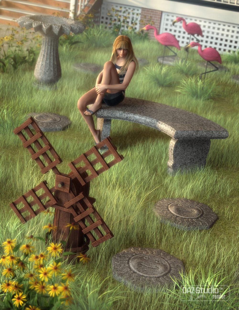 Lawn Ornaments by: Valandar, 3D Models by Daz 3D