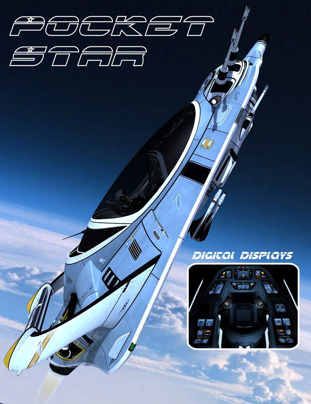 Pocket Star by: Kibarreto, 3D Models by Daz 3D