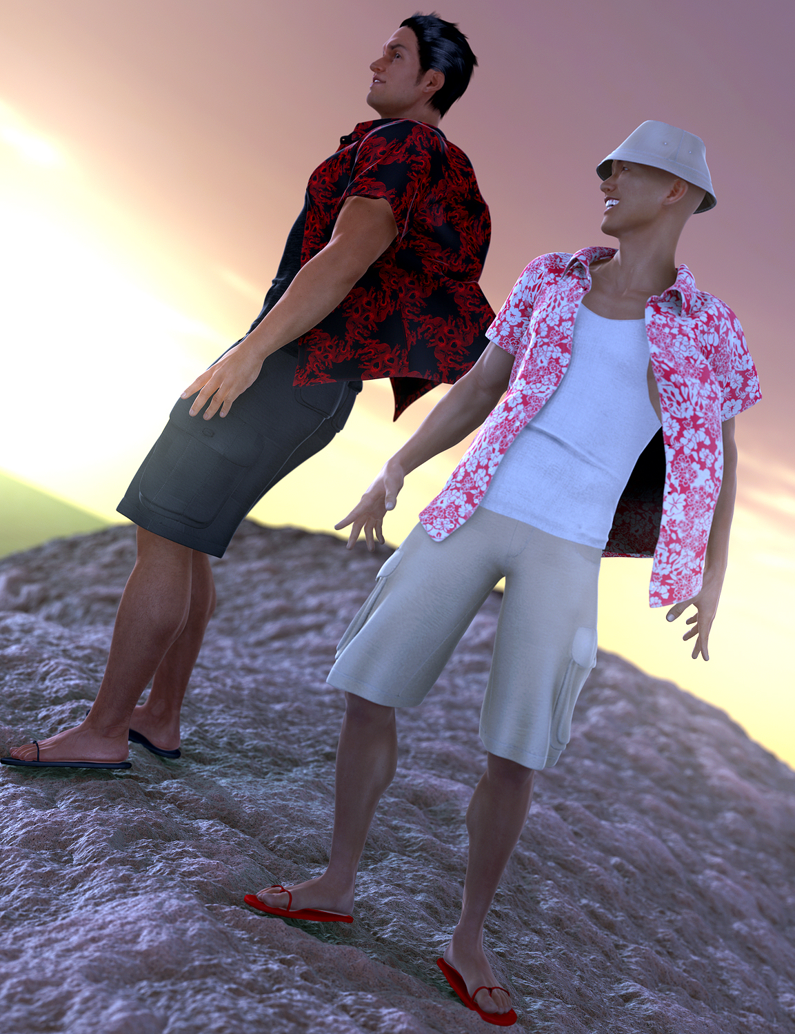 Cutting Loose for Genesis 2 Male(s) by: JoeQuick, 3D Models by Daz 3D