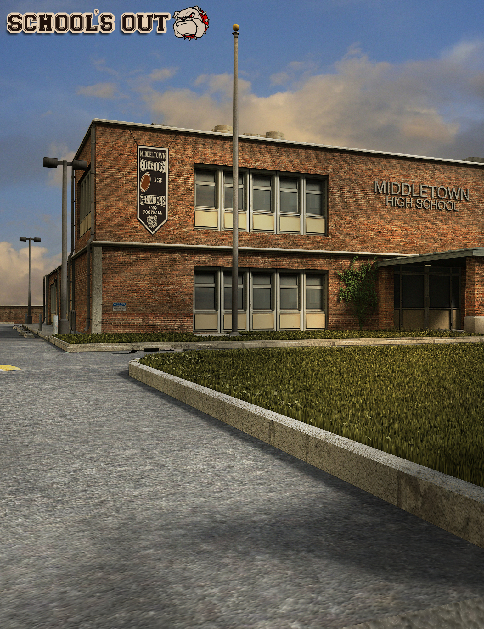 School's Out by: The AntFarm, 3D Models by Daz 3D