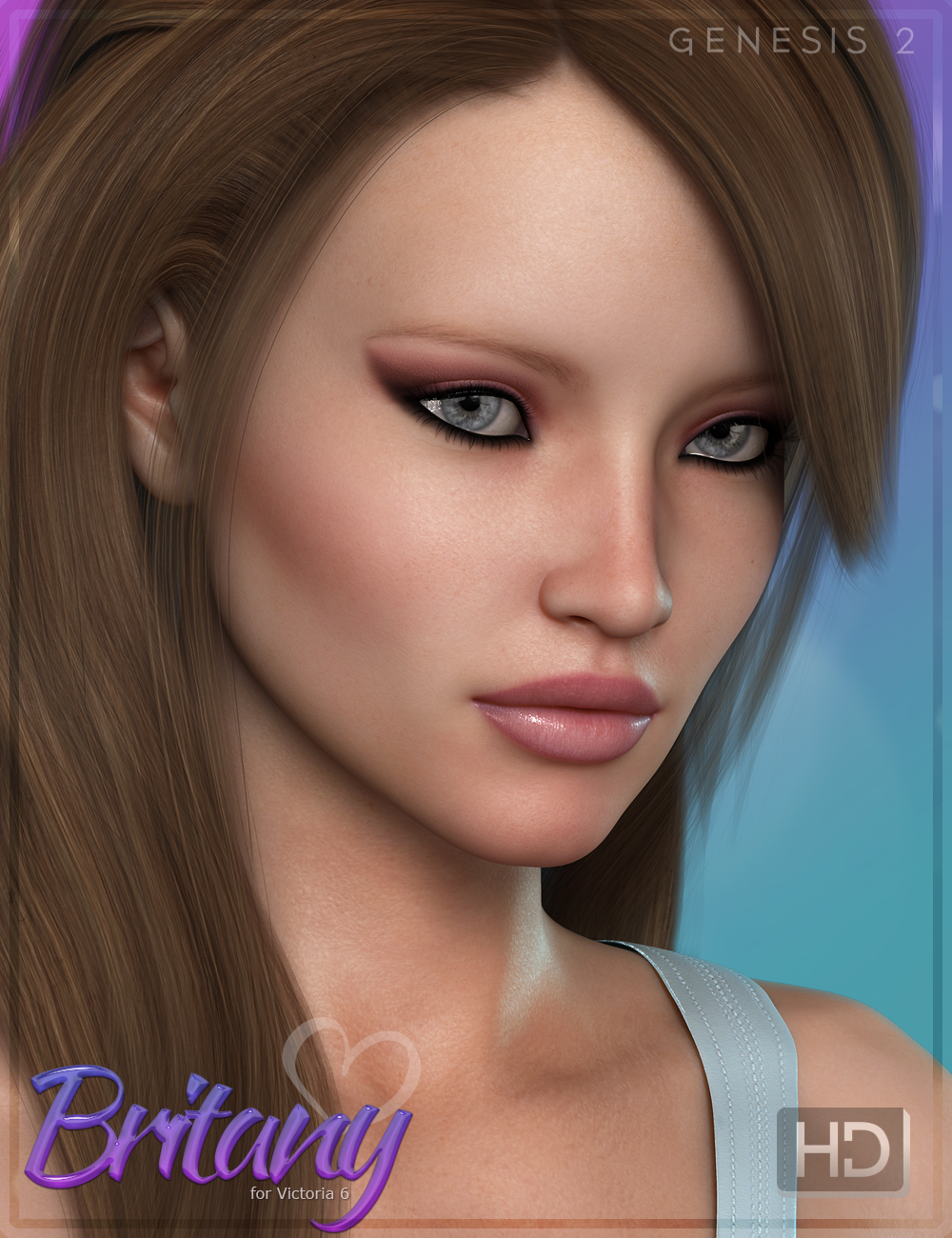FWF Britany HD - Character and Dress by: Fred Winkler ArtFisty & Darc, 3D Models by Daz 3D