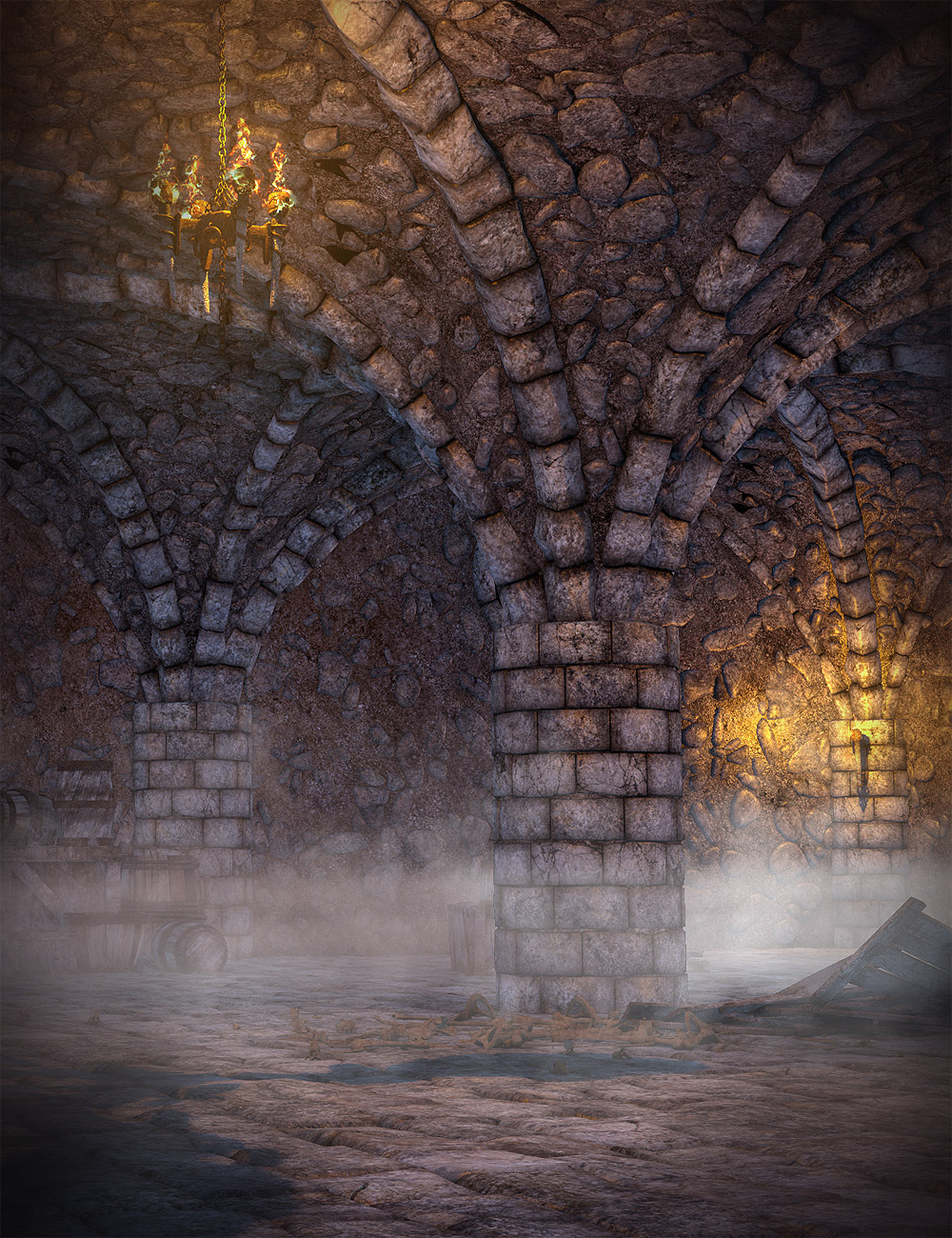 The Vaults by: Orestes Graphics, 3D Models by Daz 3D
