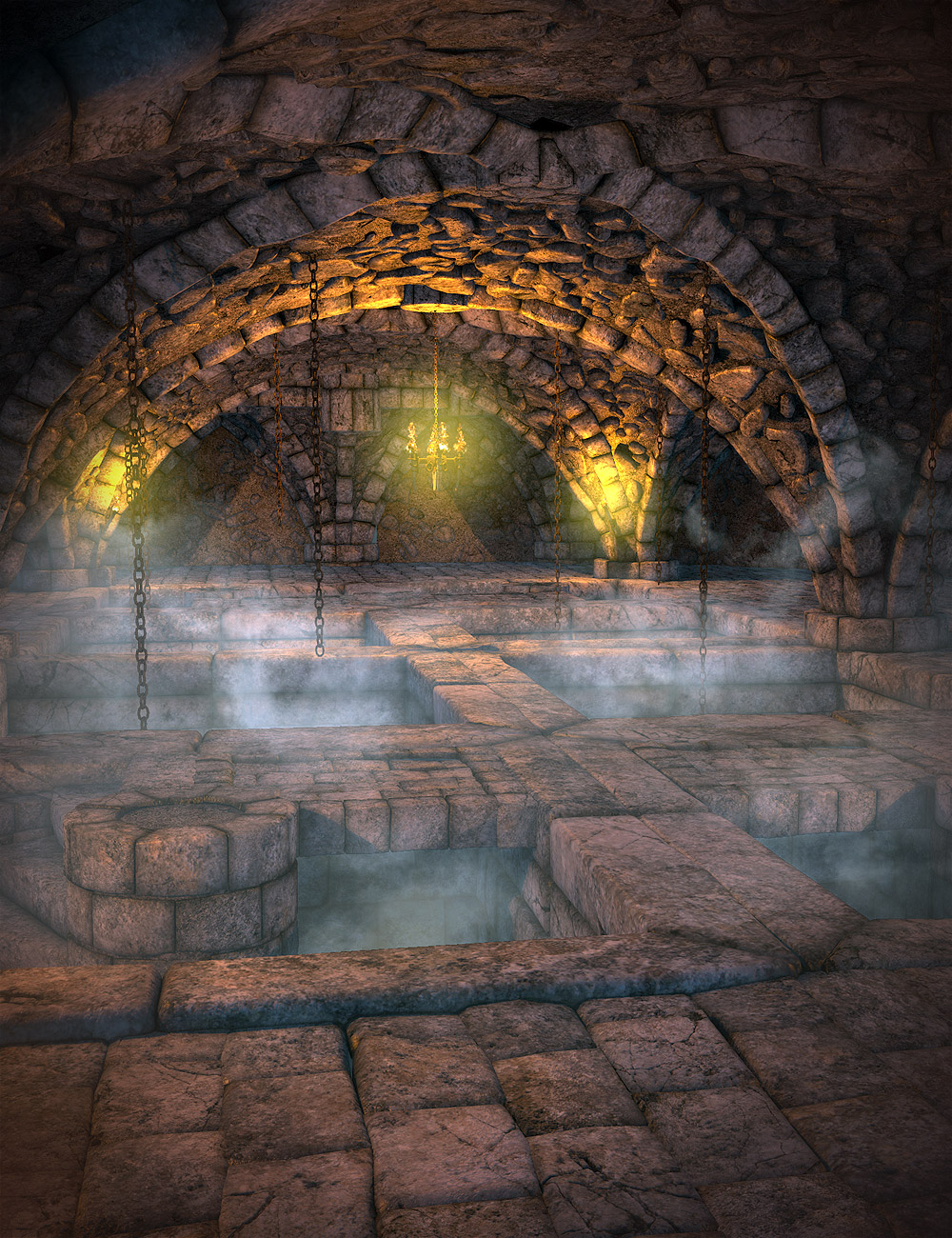 The Vaults Expansion by: Orestes Graphics, 3D Models by Daz 3D