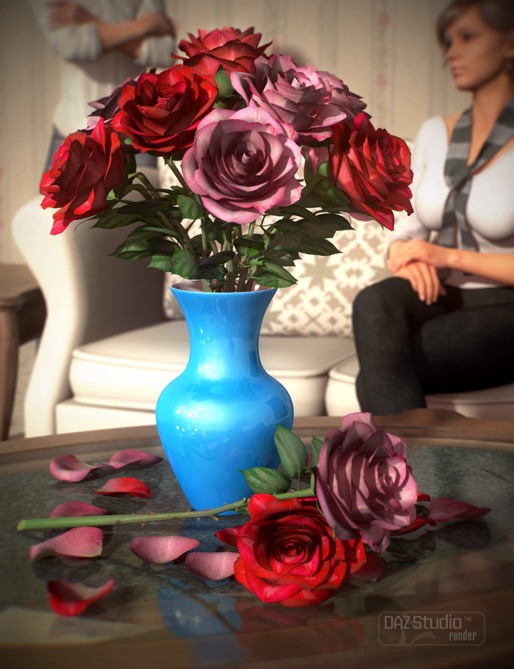 The DAZ Rose by: , 3D Models by Daz 3D