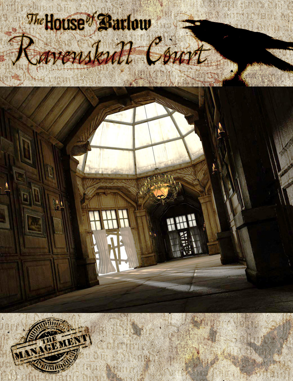 The Barlow House Ravenskull Court by: The Management, 3D Models by Daz 3D