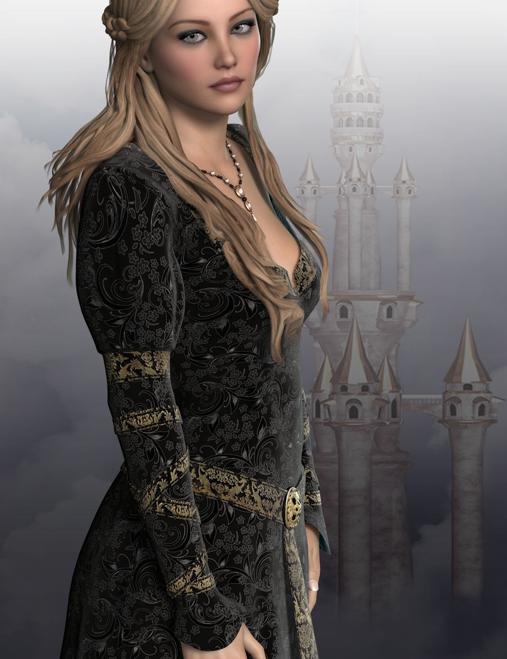 Roanmara for Genesis 2 Female(s) by: WildDesigns, 3D Models by Daz 3D