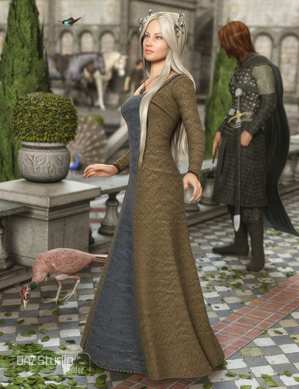 Sighni Outfit for Genesis 2 Female(s) by: MadaSarsa, 3D Models by Daz 3D
