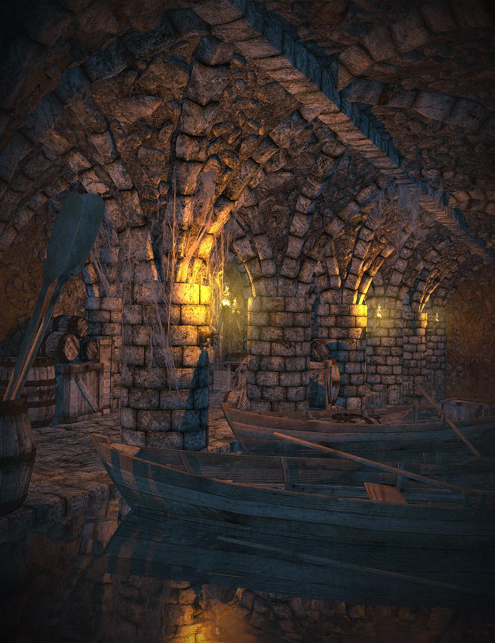 The Underdocks Bundle by: Orestes Graphics, 3D Models by Daz 3D