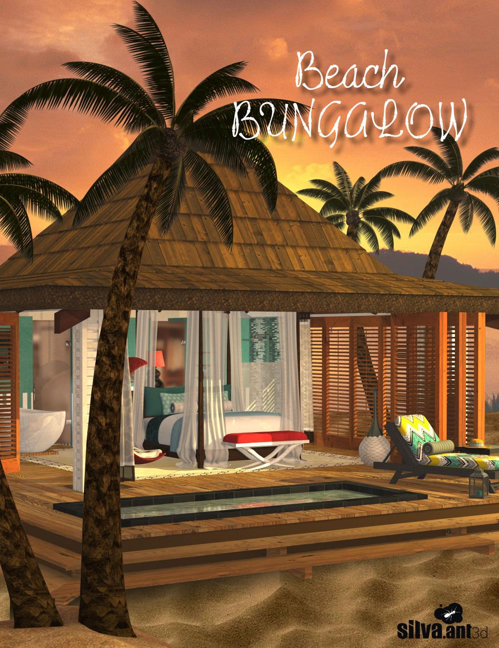 Beach Bungalow by: SilvaAnt3d, 3D Models by Daz 3D