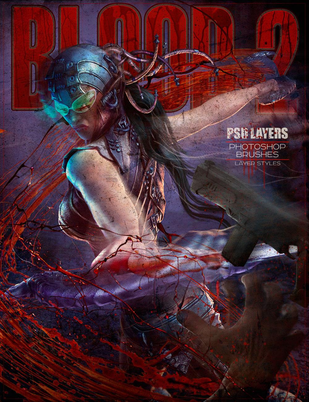 Rons Blood II by: deviney, 3D Models by Daz 3D