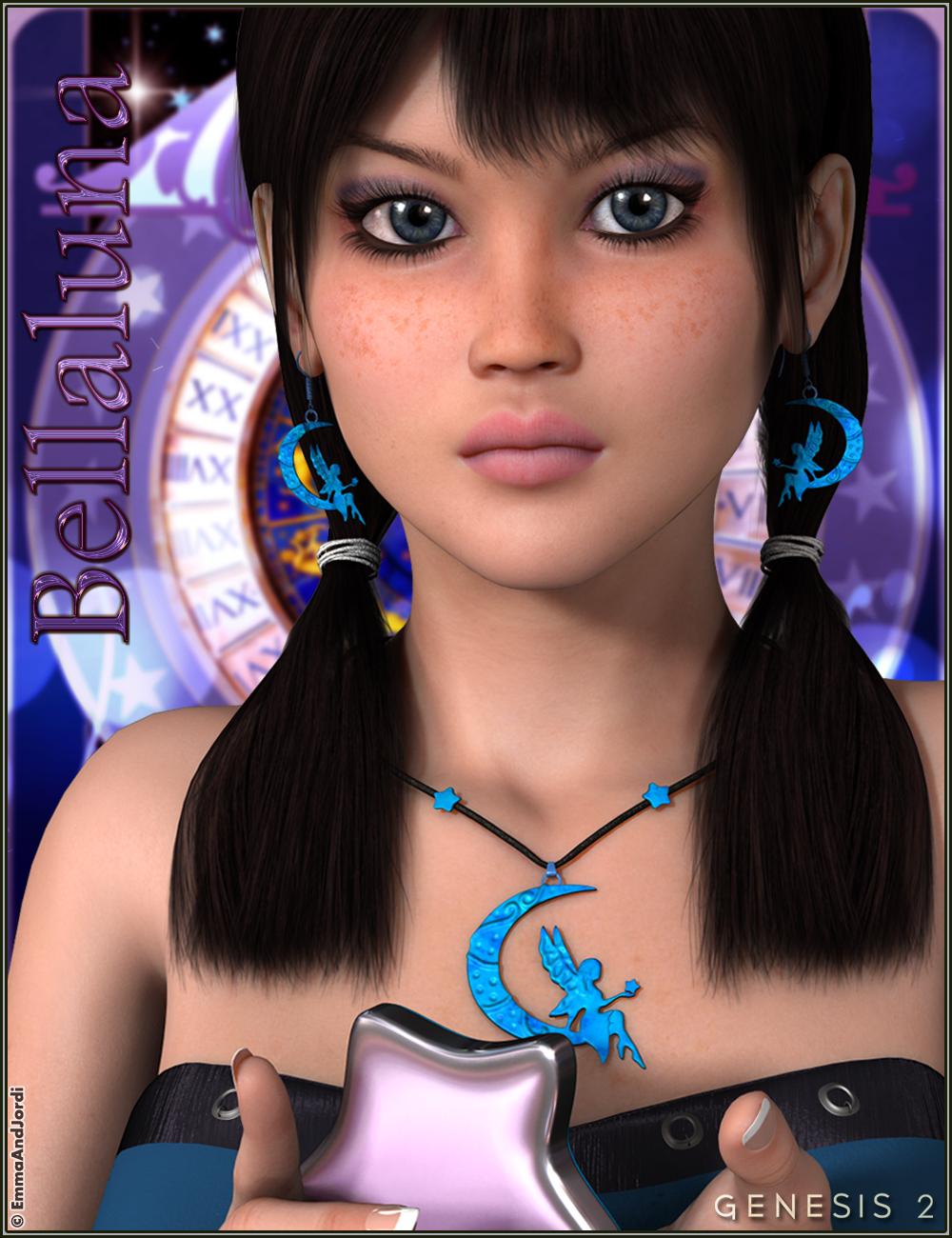 EJ Bellaluna And Moonchild Jewels by: EmmaAndJordi, 3D Models by Daz 3D