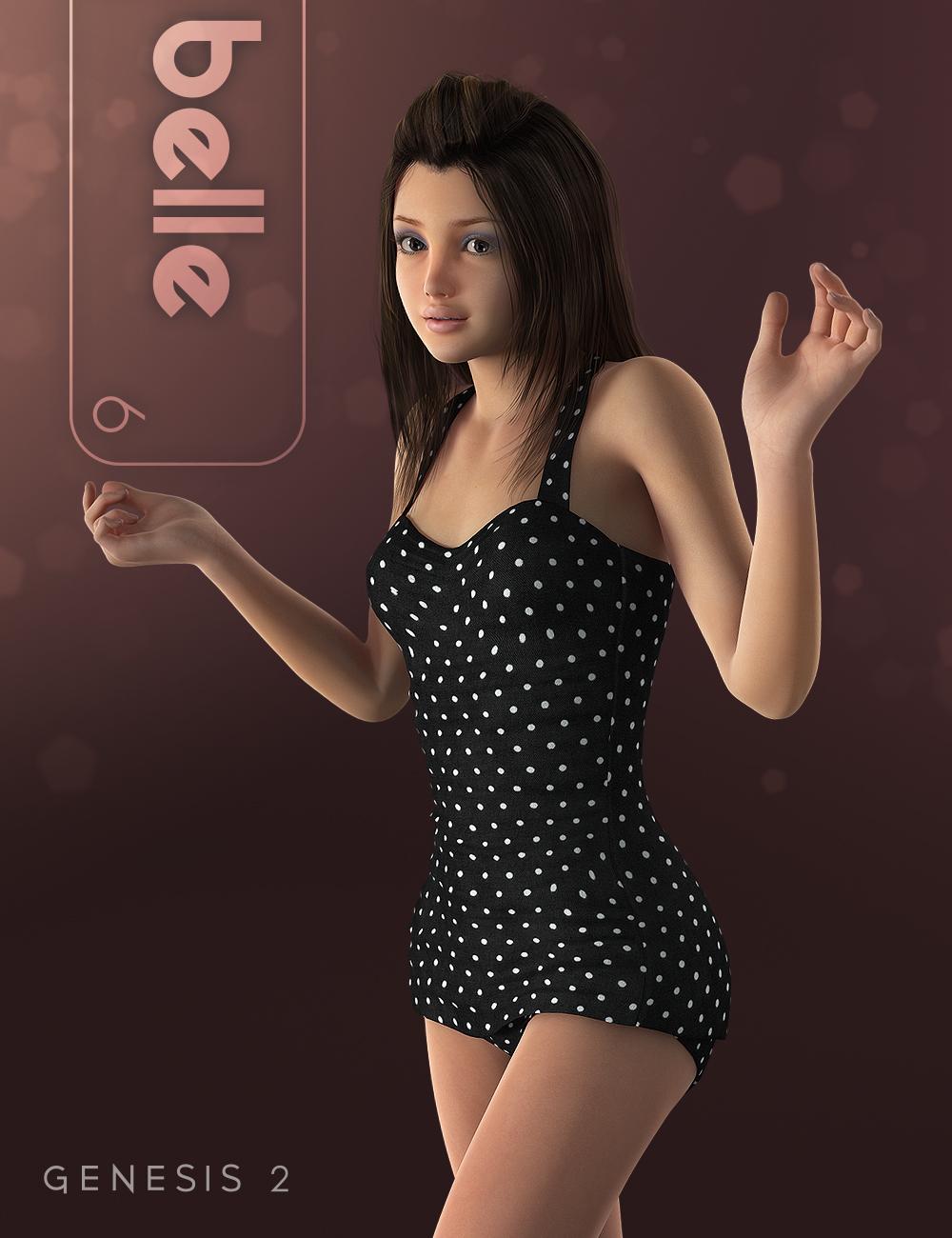 Belle 6 by: , 3D Models by Daz 3D
