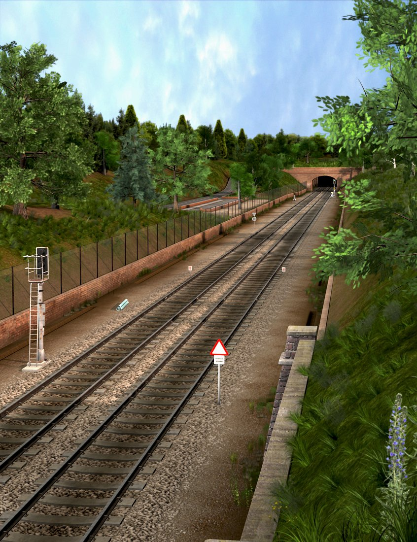 The Old Railway by: Dogz, 3D Models by Daz 3D