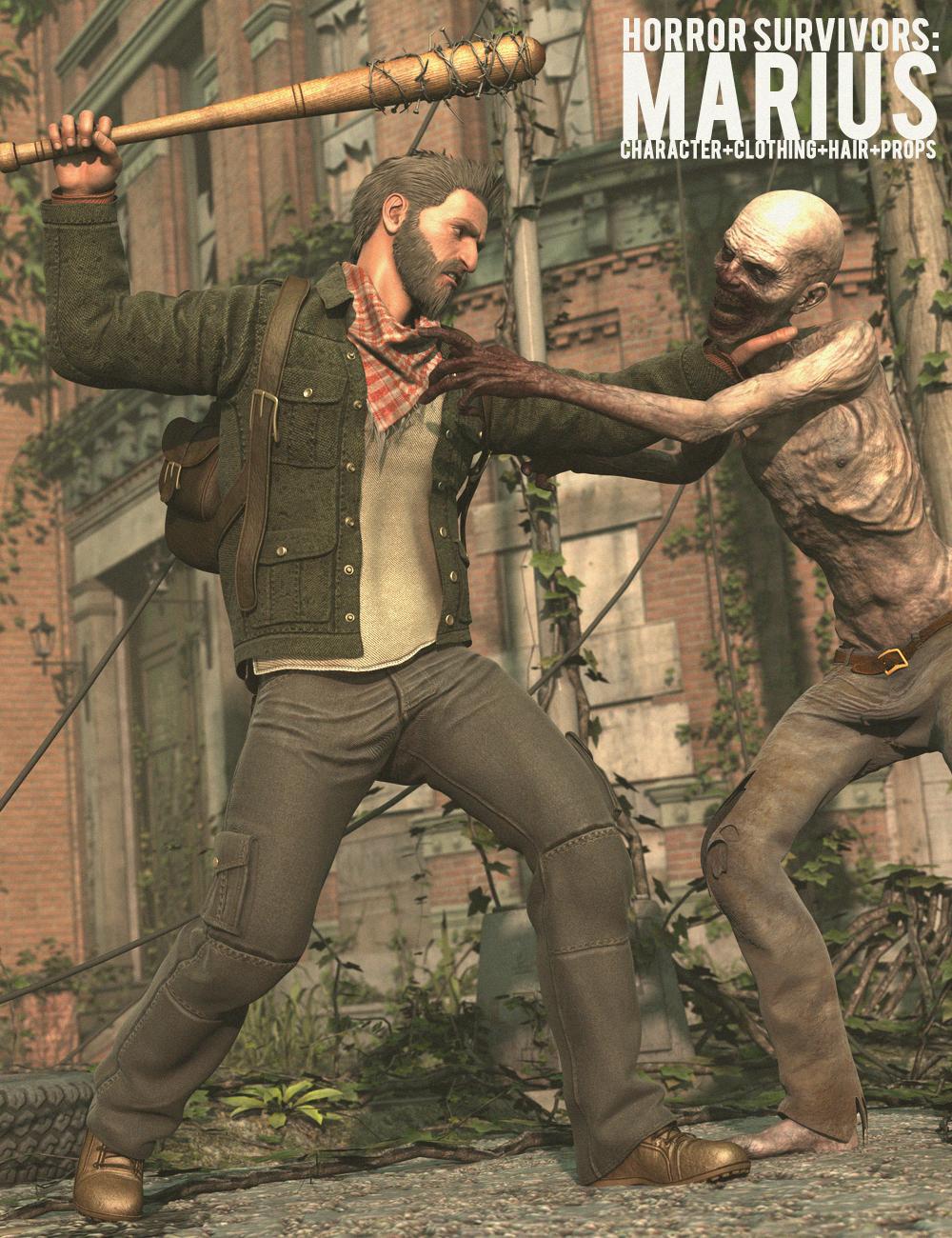 Horror Survivors: Marius by: Luthbel, 3D Models by Daz 3D