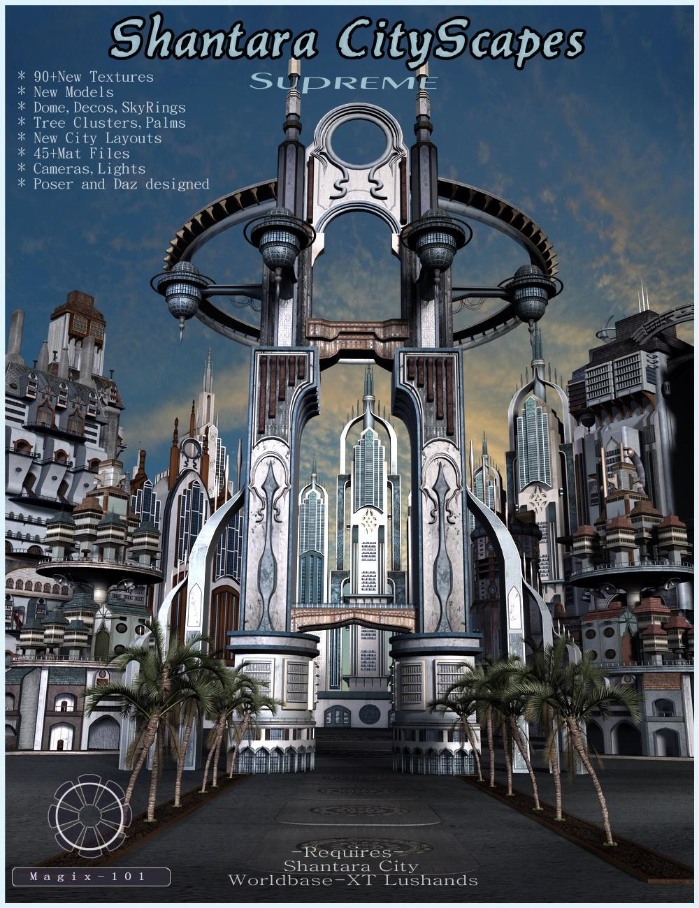 Shantara CityScapes Supreme by: Magix 101, 3D Models by Daz 3D
