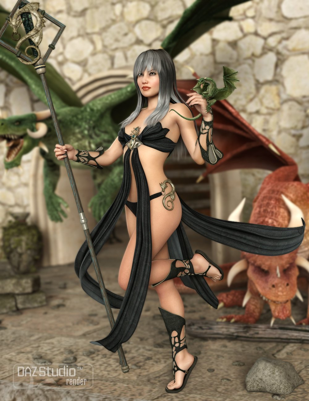 Fantasia For Genesis 2 Female(s) by: MadaSarsa, 3D Models by Daz 3D