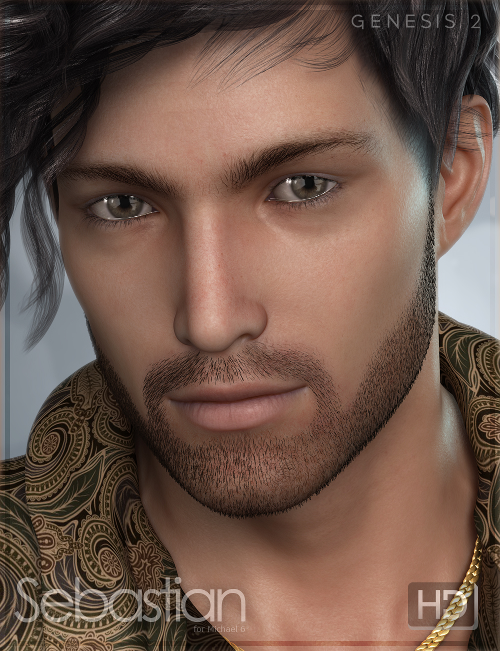FW Sebastian HD by: Fred Winkler Art, 3D Models by Daz 3D